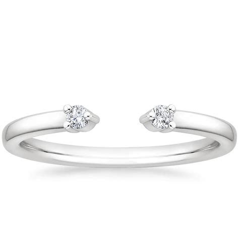 Open Diamond Wedding Band   Wren   Brilliant Earth