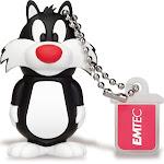 Emtec ECMMD16GL101 16 GB USB 2.0 L101 Looney Tunes Sylvester Flash Drive