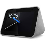 Lenovo Smart Clock with Google Assistant - Gray