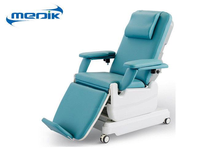 Grüner beweglicher Blutspend-Stuhl, elektrischer Blut ...