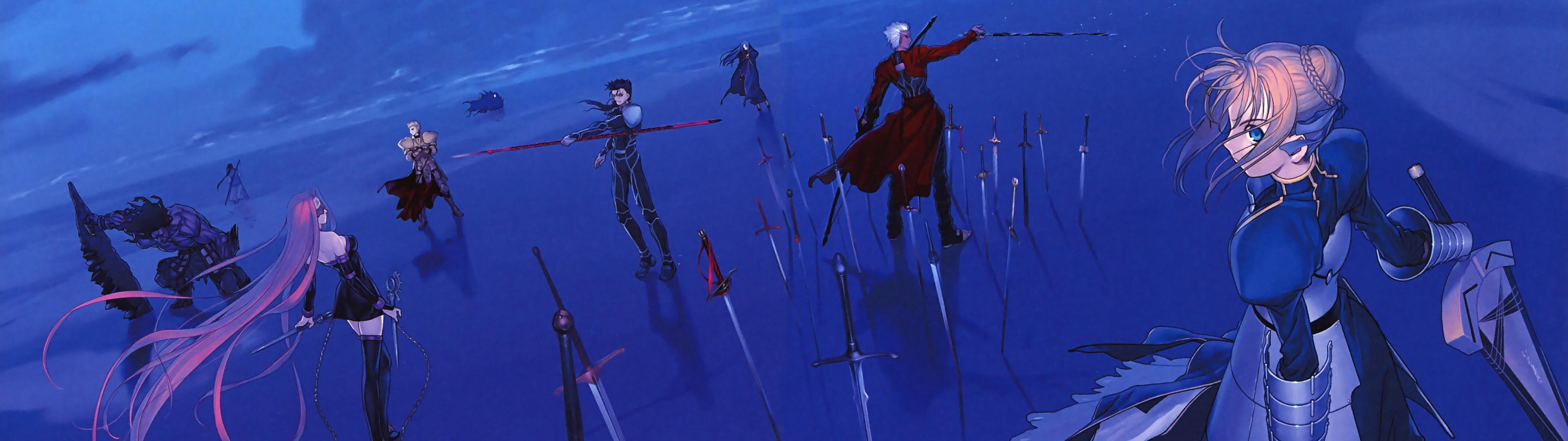 Dual Screen Wallpaper Anime 3840x1200 Wallpaper