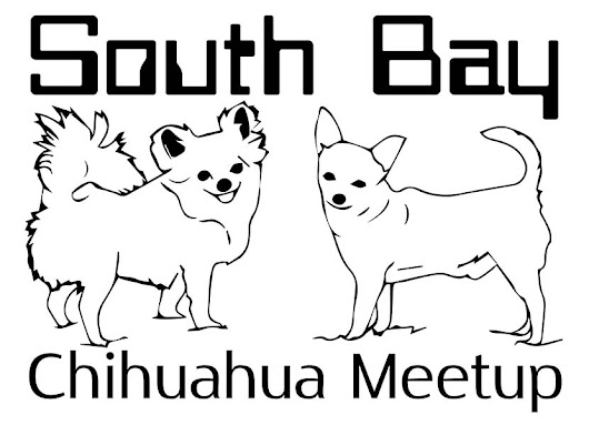 Crystal M Romero (@Crstl_M_Romero) commissions South Bay Chihuahua Meetup's official logo for t-shirts for charity.