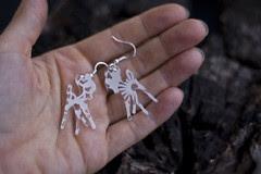 earrings bambi