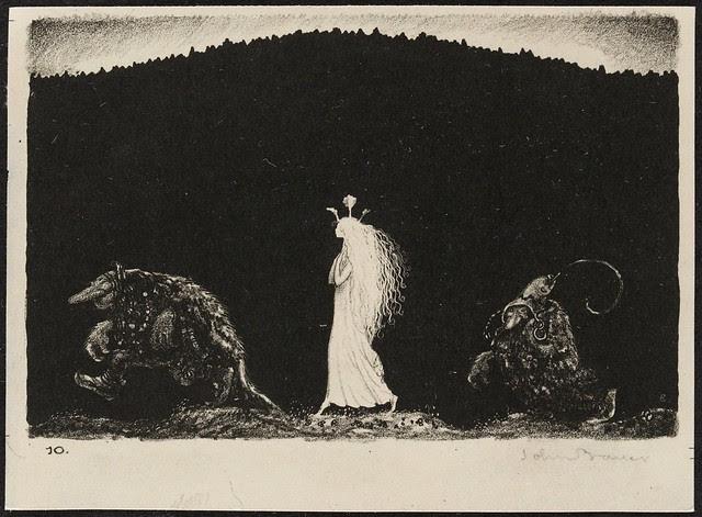 John Bauer - Lithograph 5 (1915)