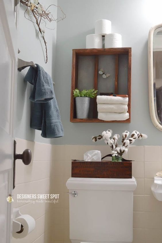 10 Steps to a Fixer Upper Style Bathroom #fixerupperstyle ...