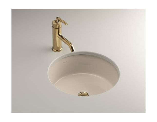 Kohler K 2883 7 Verticyl Verticyl Round Undermount Bathroom Sink Undermount Bathroom Sinks