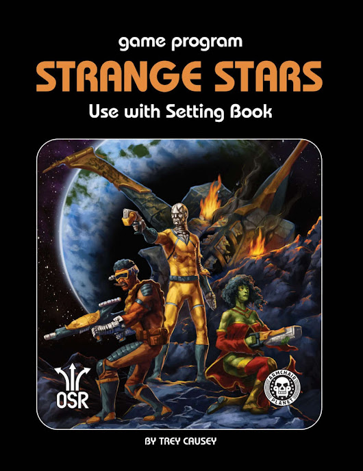 Strange Stars OSR Rule Book