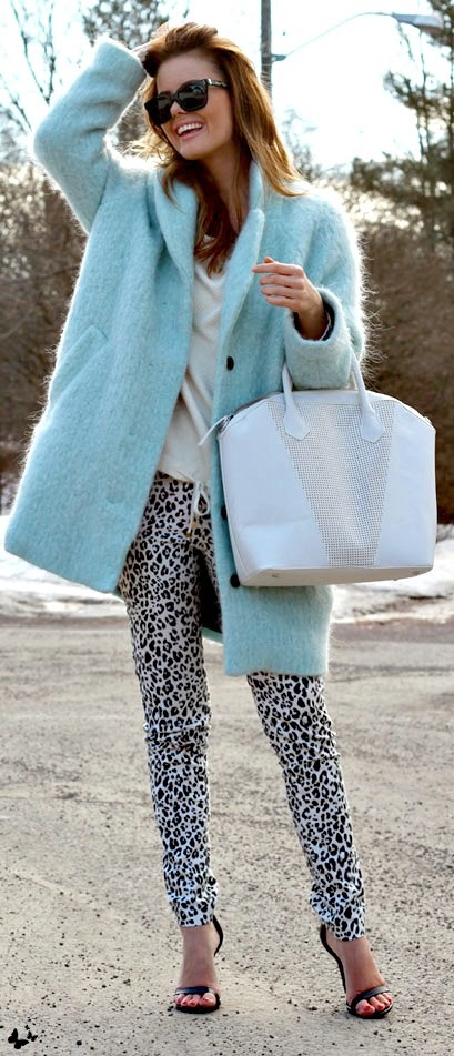#street #fashion baby blue @wachabuy