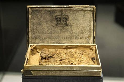 Queen Victoria's 150 year old wedding cake goes on display
