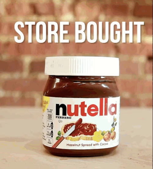 Make you own Nutella!