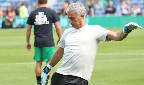 Jose Mourinho Game 4 Grenfell