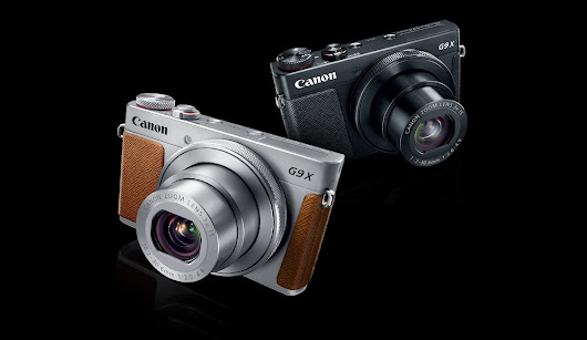 Canon Announces PowerShot G9 X Mark II & 3 New VIXIA Camcorders