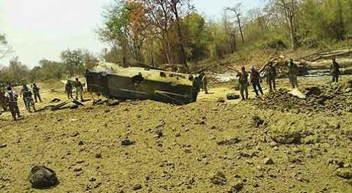 9 #CRPF jawans martyred in sabotage by #Maoist in #Chhattisgarh's #Sukma district