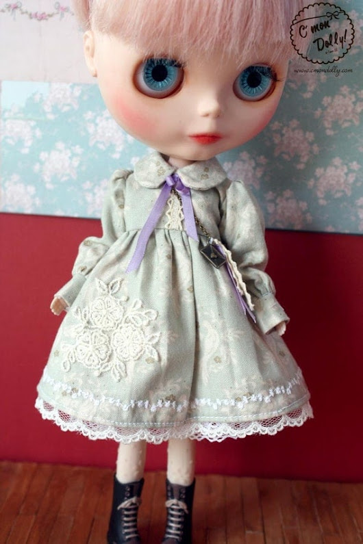 Love letter birds: a Blythe vintage inspired dress