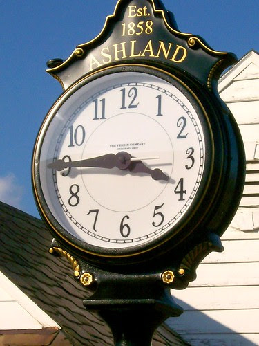 Clock - Amtrak Station - Ashland, VA