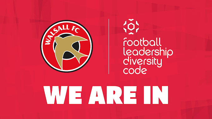 Walsall FC Sign Up to the FA's Football Leadership Diversity Code