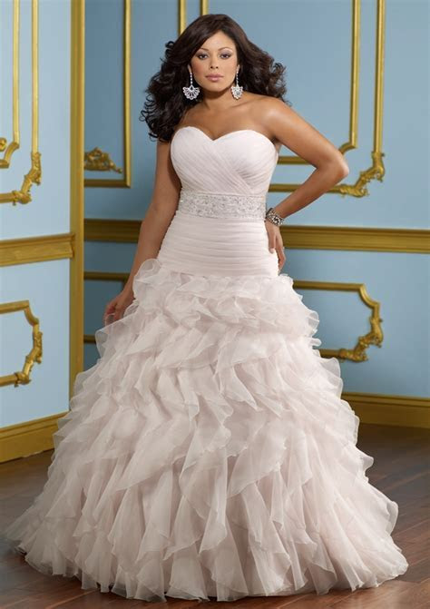 Plus Size Gowns Latest Designs 2014   2015 for Ladies