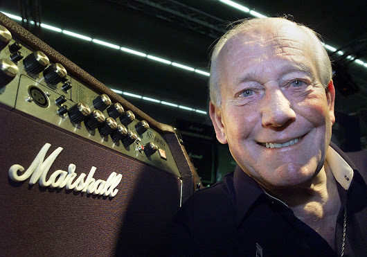Jim Marshall, maker of rock-and-roll guitar amplifiers, dies at 88