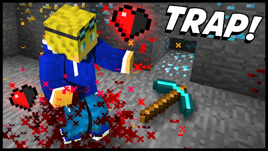 EXTREMELY DEADLY ORE MINING TRAP! - Minecraft Tutorial - YouTube