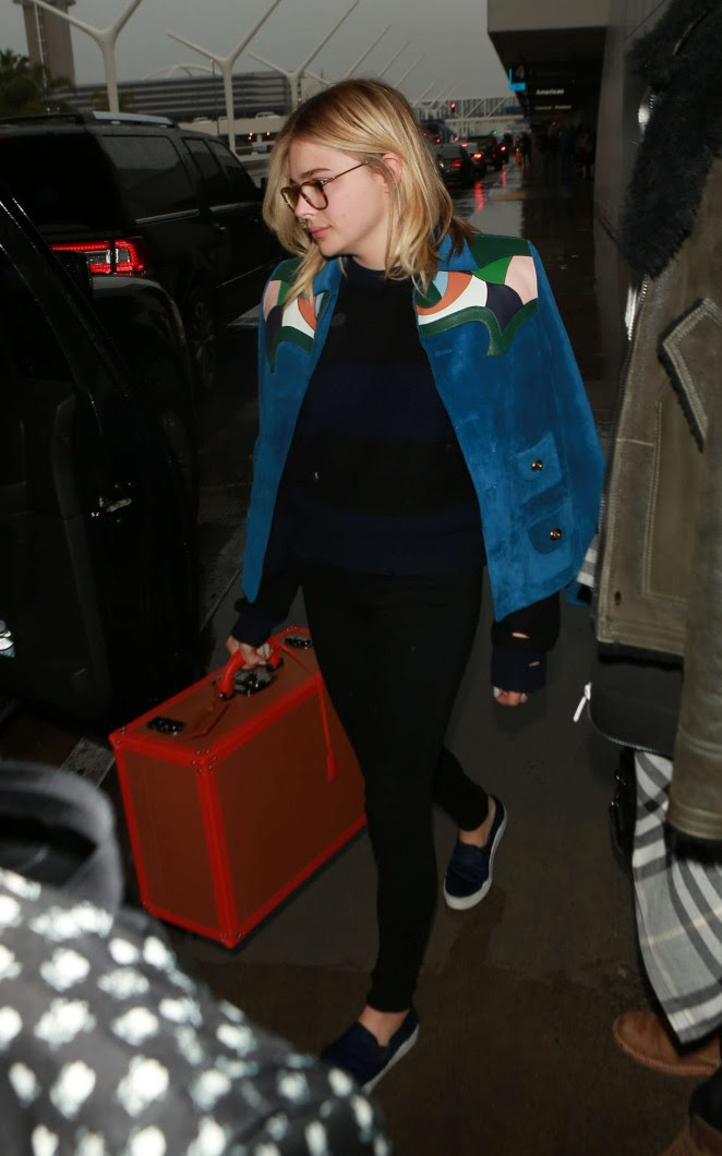 Chloe Moretz: Arrives at LAX Airport -05
