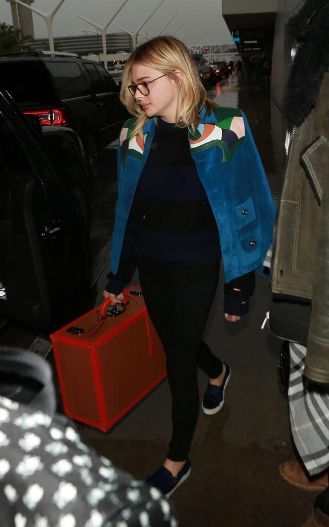 Chloe Moretz: Arrives at LAX Airport -05