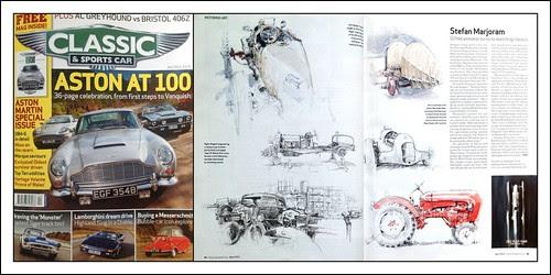 Classic & Sportscar Feature by Stefan Marjoram