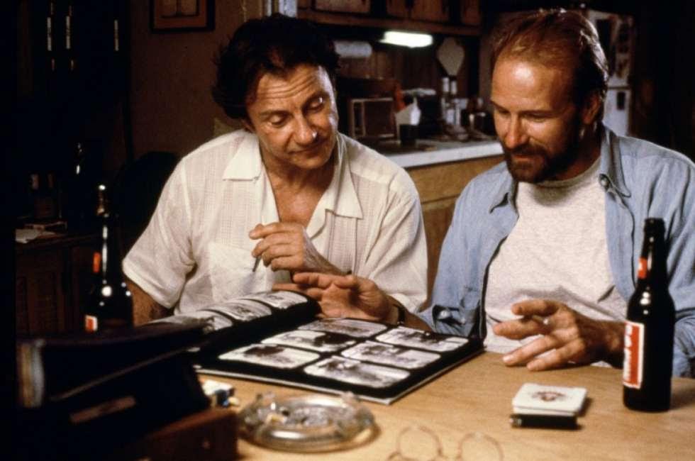 Fotograma de la película 'Smoke', con guion de Paul Auster.