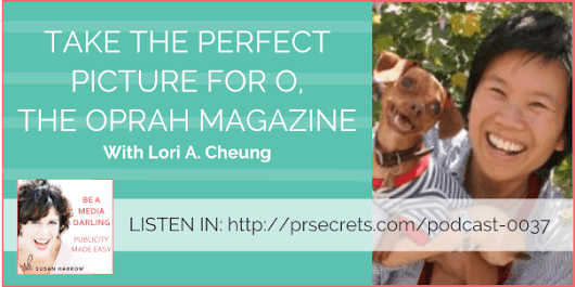 Take The Perfect Picture For O Magazine With Lori A. Cheung