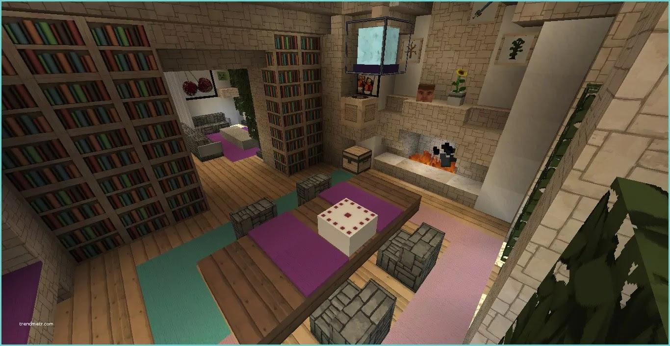 Architecte En Batiment Deco Interieur Maison Minecraft