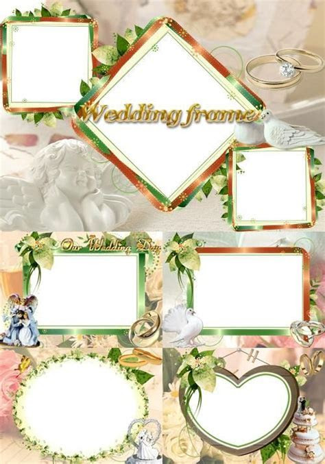 Photoshop clipart wedding photo frame   Pencil and in