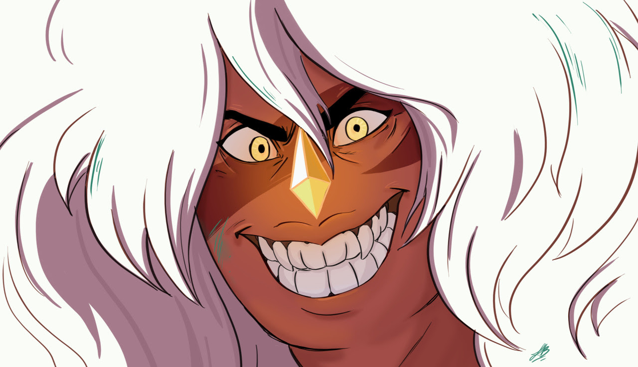 Today I tryed to redraw one of my favorite screencap of Jasper…I like it