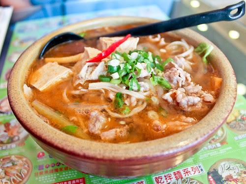 Szechuan pork ramen (甘泉魚麵)