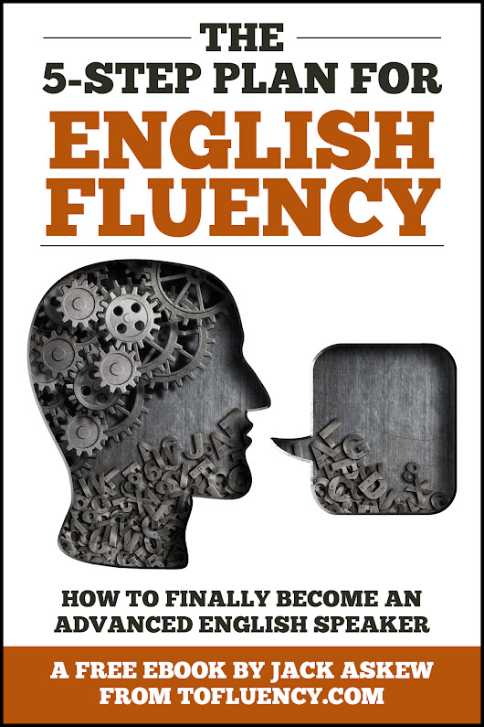 Get This Amazing English Fluency Book (for FREE!)
