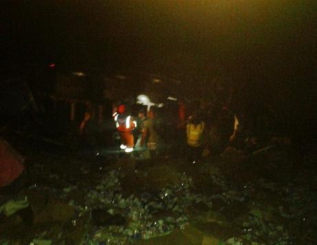 Uma das pessoas mortas no local do acidente foi identificada como Nel de Carmelinda, moradora na localidade do São João, município de Boa Nova (foto do local feita  por celular)