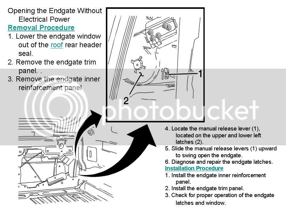 2004 Gmc Envoy Power Window Wiring Diagram