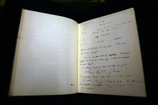 Alan Turing's notebook sells for $ 1 million in a New York auction