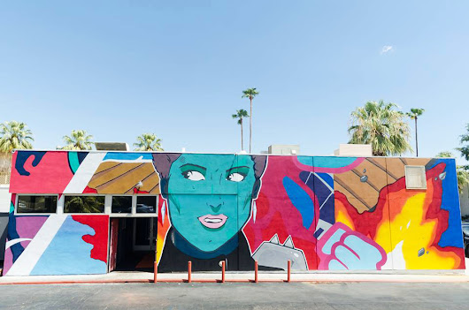 Palm Springs 'Fire Born' by @madmanart