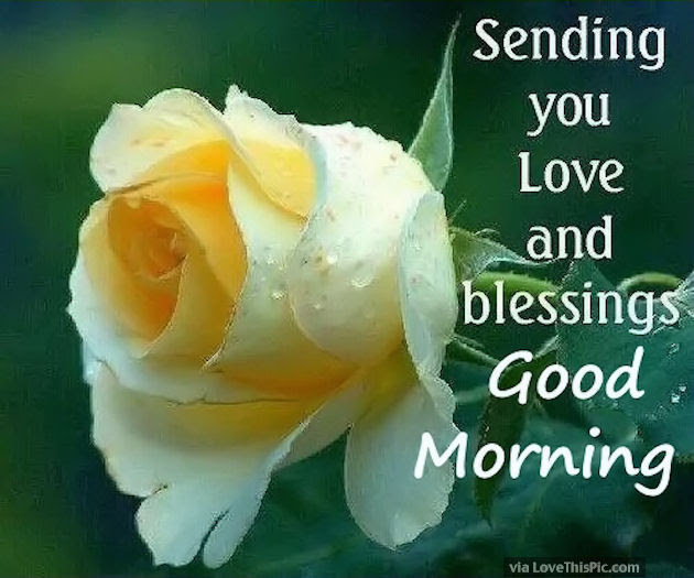 Sending You Love And Blessings Good Morning Pictures Photos And