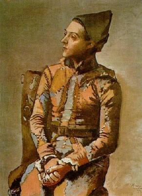 Portrait of a Harlequin