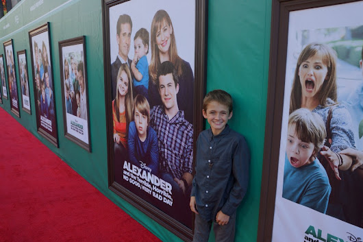 World Premiere of Alexander, and the Terrible, Horrible, No Good, Very Bad Day | OC Mom Blog