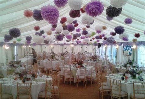Cheap Wedding Ceiling Decorations   Marquee hire Dorset