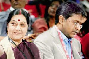 Lalit Modi row: Opposition targets PM Modi; BJP rallies behind Sushma Swaraj