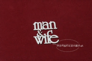 Man and Wife zestaw napisów/ pojedynczy napis