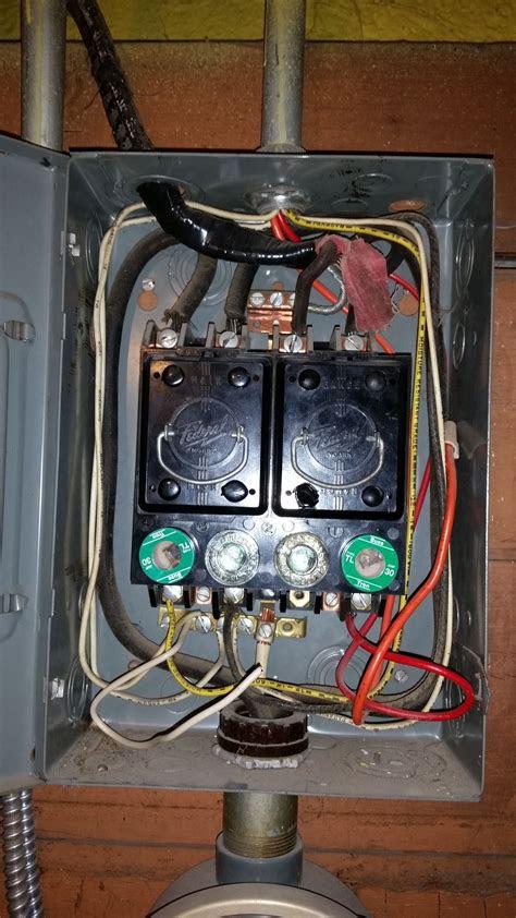 question  fuse boxes electricians