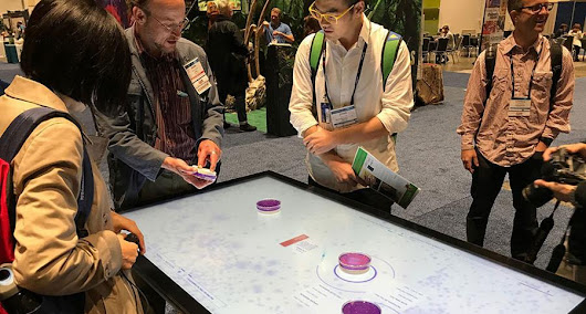 Ideum at AAM, Touch Tables & Displays, Tangible Engine Update, AV Partnerships