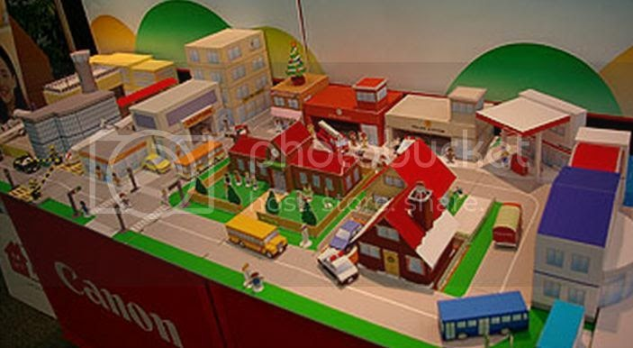 PAPERMAU: Mini City Diorama For Kids - by Canon