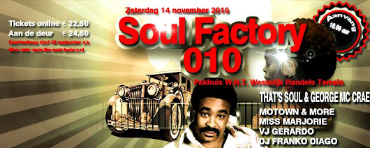That'Soul & George McCrae at Soul Factory 010 - Feestband Partyband That'Soul