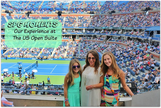 SPG Moments : Our Experience at the US Open Suite