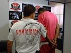 Suspeito de matar idosa é preso (Divulgação/ Polícia Civil)