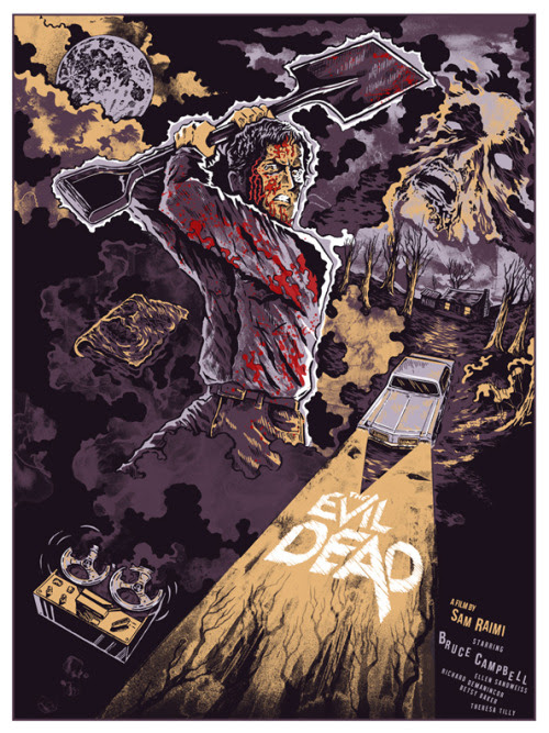 The Evil Dead by Mayra Fersner